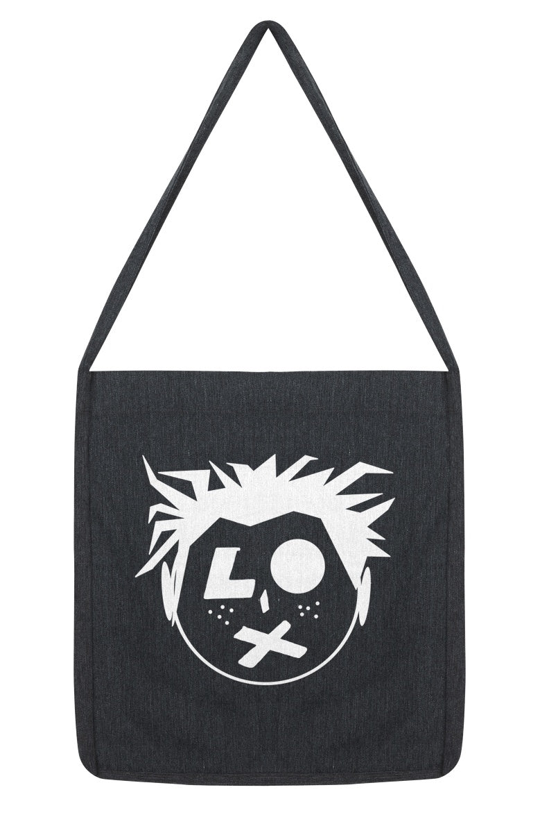 SP Head Logo Woven Twill Tote Sling Bag