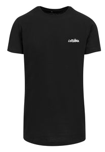 American tongue long tee black