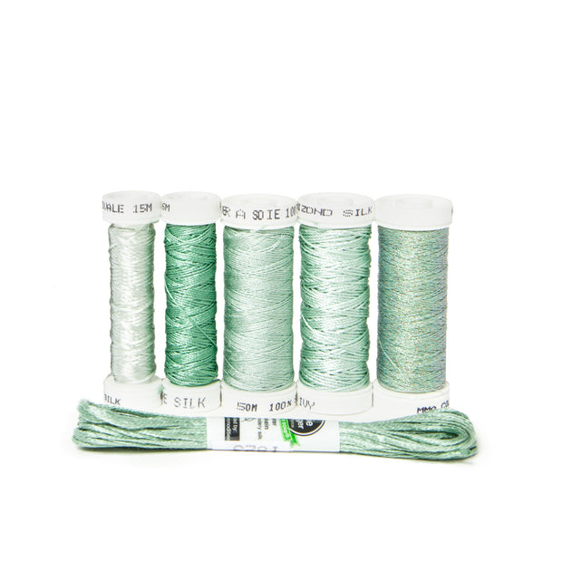 Ensemble de Soie Thread Kit - Celadon Green