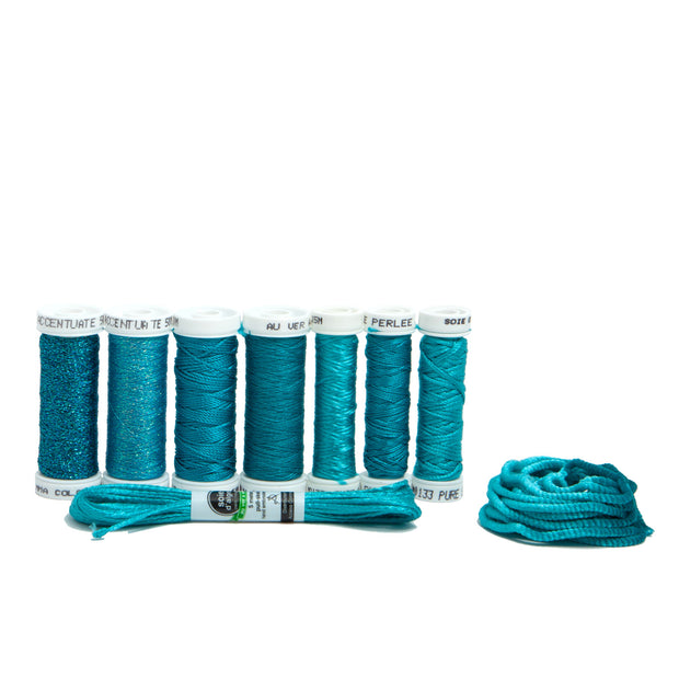 Ensemble de Soie Thread Kit - Caribbean Blue