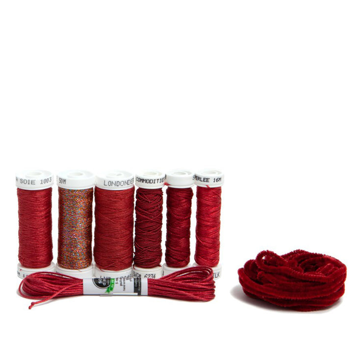 Ensemble de Soie Thread Kit - Rhubarb