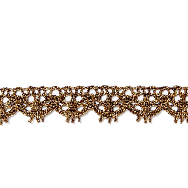 Garniture - Antique Metallic Lace