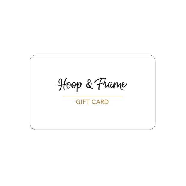 Hoop and Frame Gift Card