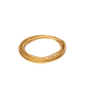 Metallic Soft Twist Cord  - Medium Gold