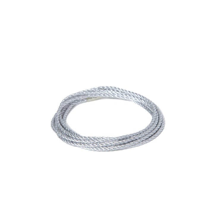 Metallic Soft Twist Cord  - Silver