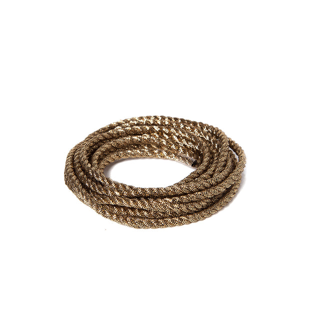 "Metallic Soft Twist Cord  1/8"" - Bronze"