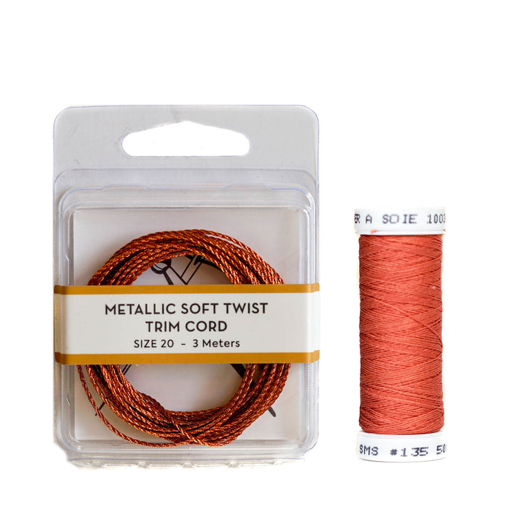 Metallic Soft Twist Cord  - Copper Twist