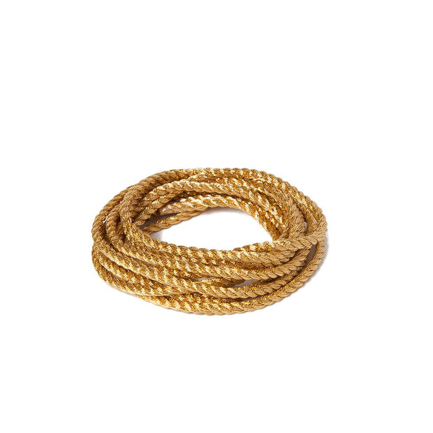 "Metallic Soft Twist Cord  1/8"" - Gold"