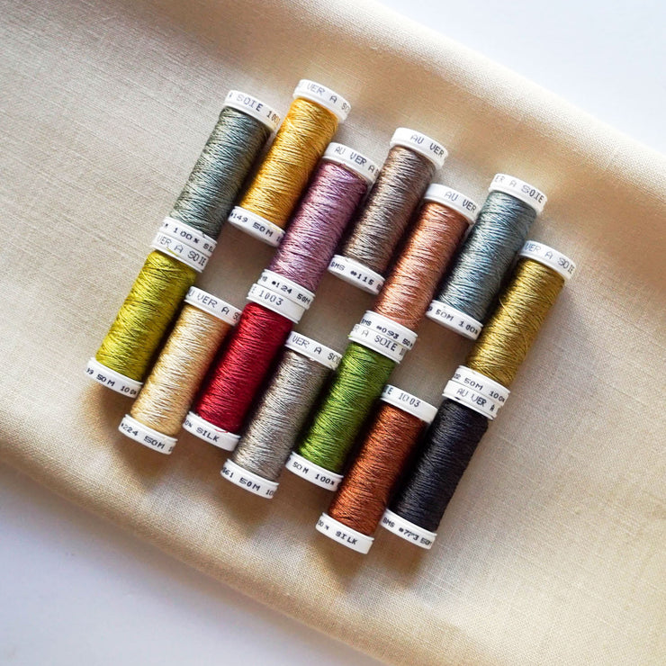 Hands Across the Sea - Mary Eliza McMillan 1869  – A Little Gem - Soie 100/3 Thread Kit