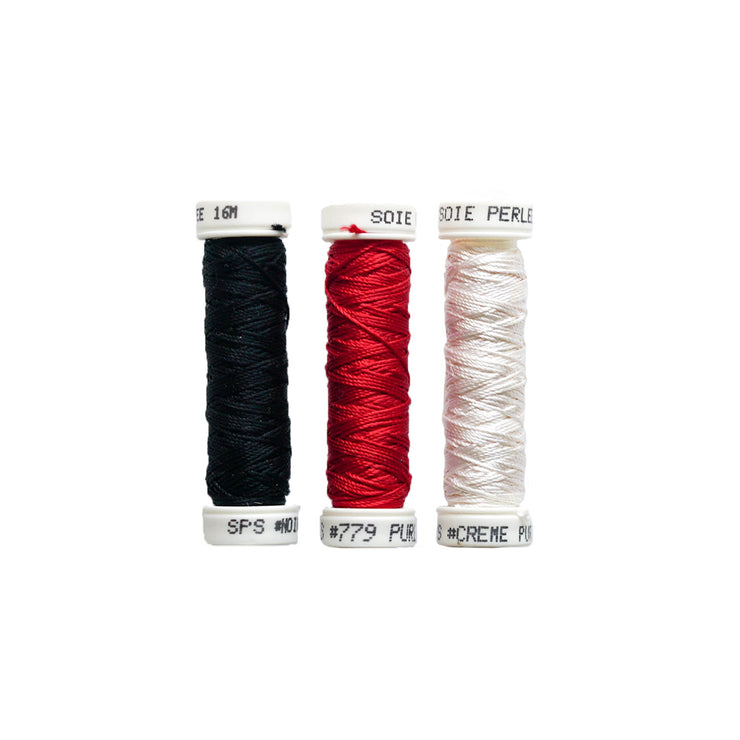 Au Ver à Soie ® Soie Perlee Silk Thread Kit - Basics 1