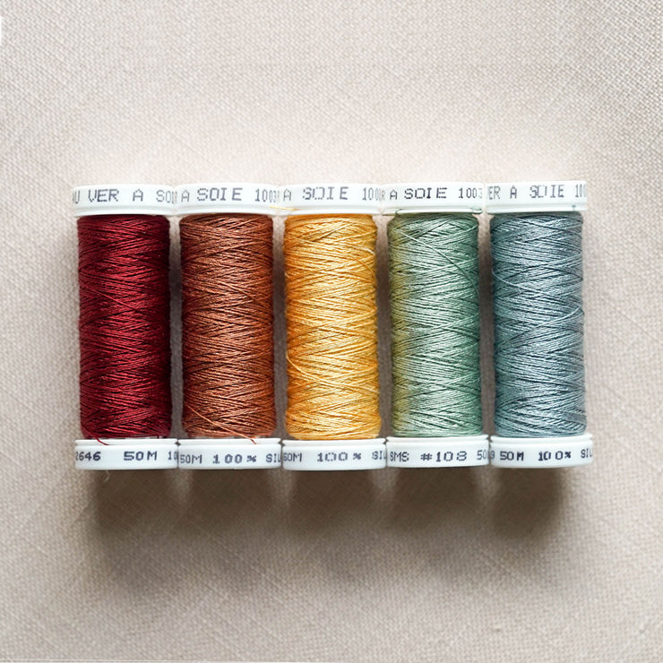 Hands Across the Sea - Mary Stead 1824 – A Little Gem - Soie 100/3 Thread Kit