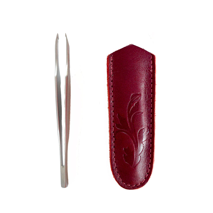 Dovo Wide Slant Tweezer