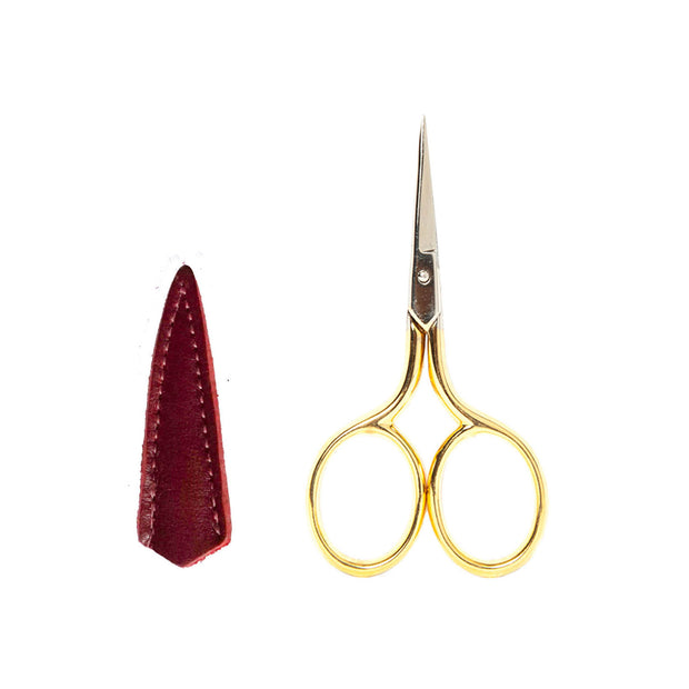 Bohin Gold Handle Micro Fine Embroidery Scissors