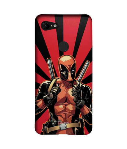 Smart Ass Deadpool - Sublime Phone Cases For Google Pixel 3 XL