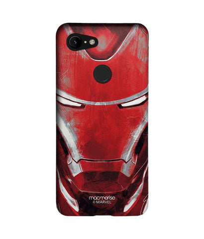 Charcoal Art Iron man - Sublime Phone Case For Google Pixel 3