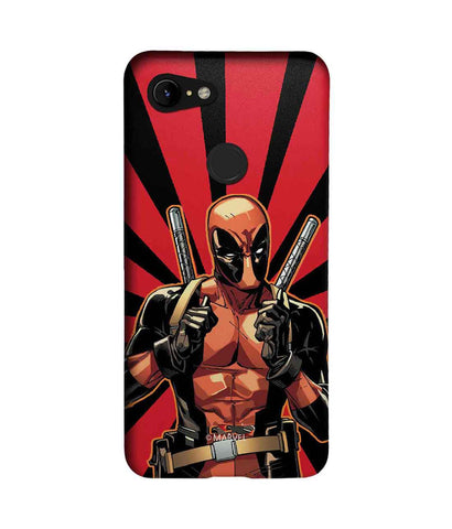 Smart Ass Deadpool - Sublime Phone Cases For Google Pixel 3