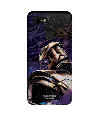 Thanos on Edge - Sublime Phone Case For Google Pixel 3