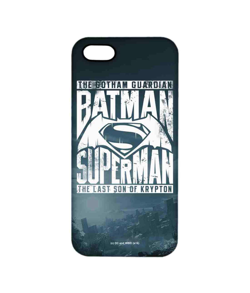 Gotham vs Krypton Blue - Pro Phone Cases For Apple iPhone 5/5S