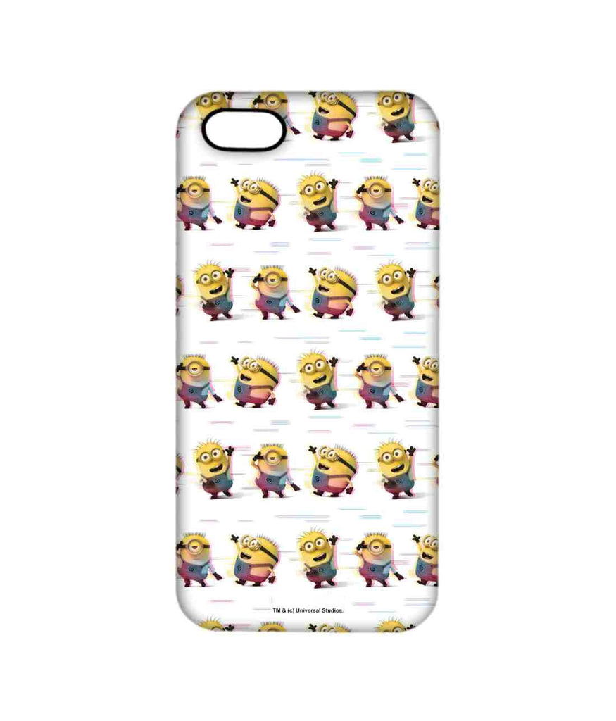 Groovy Minions White - Pro Phone Cases For Apple iPhone 5/5S