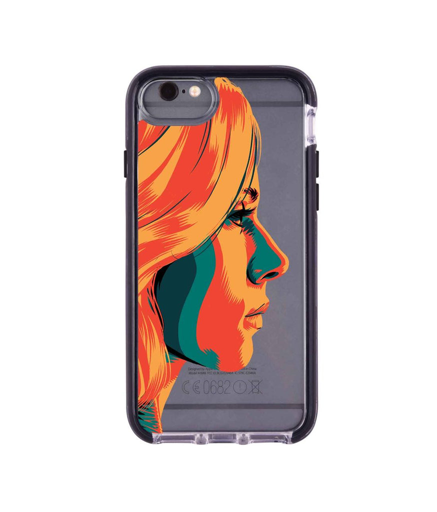 Illuminated Black Widow - Extreme Phone Case for iPhone 6S