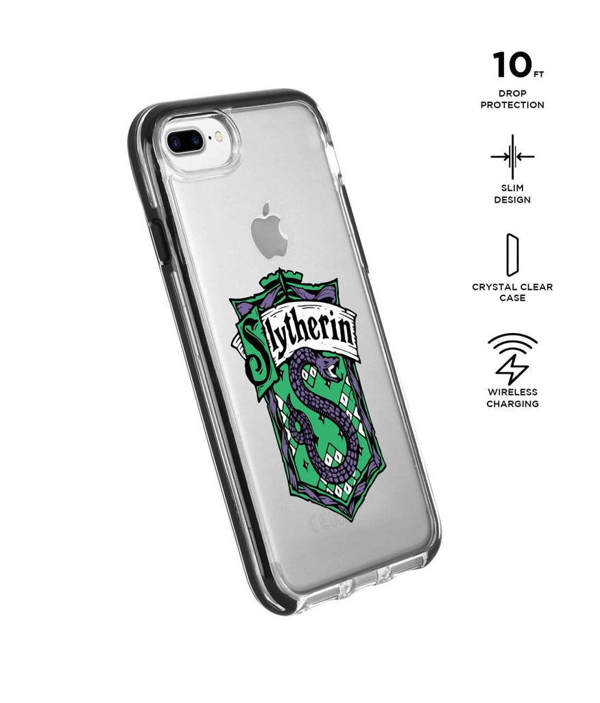 Crest Slytherin - Extreme Phone Case for iPhone 8 Plus