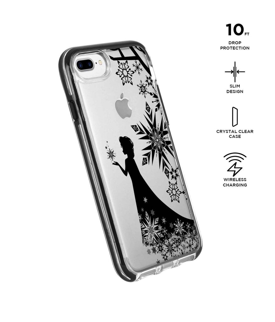 Elsa Silhouette - Extreme Phone Case for iPhone 8 Plus
