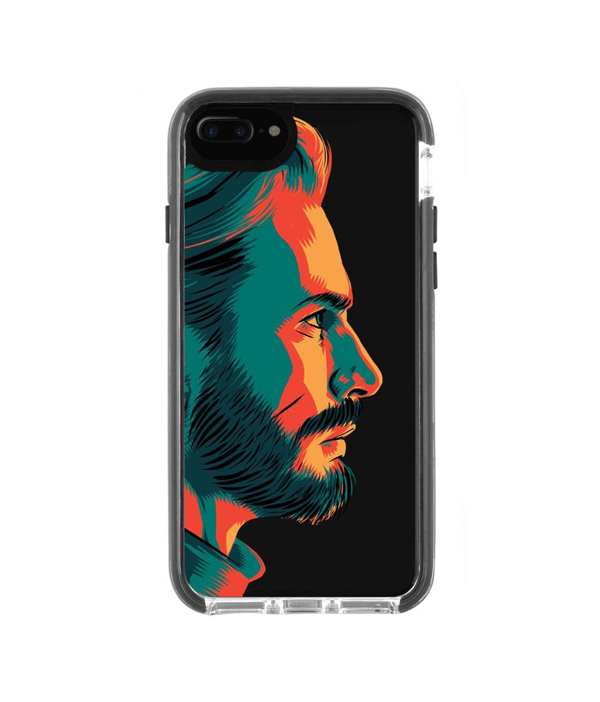 Illuminated Captain America - Extreme Phone Case for iPhone 8 Plus
