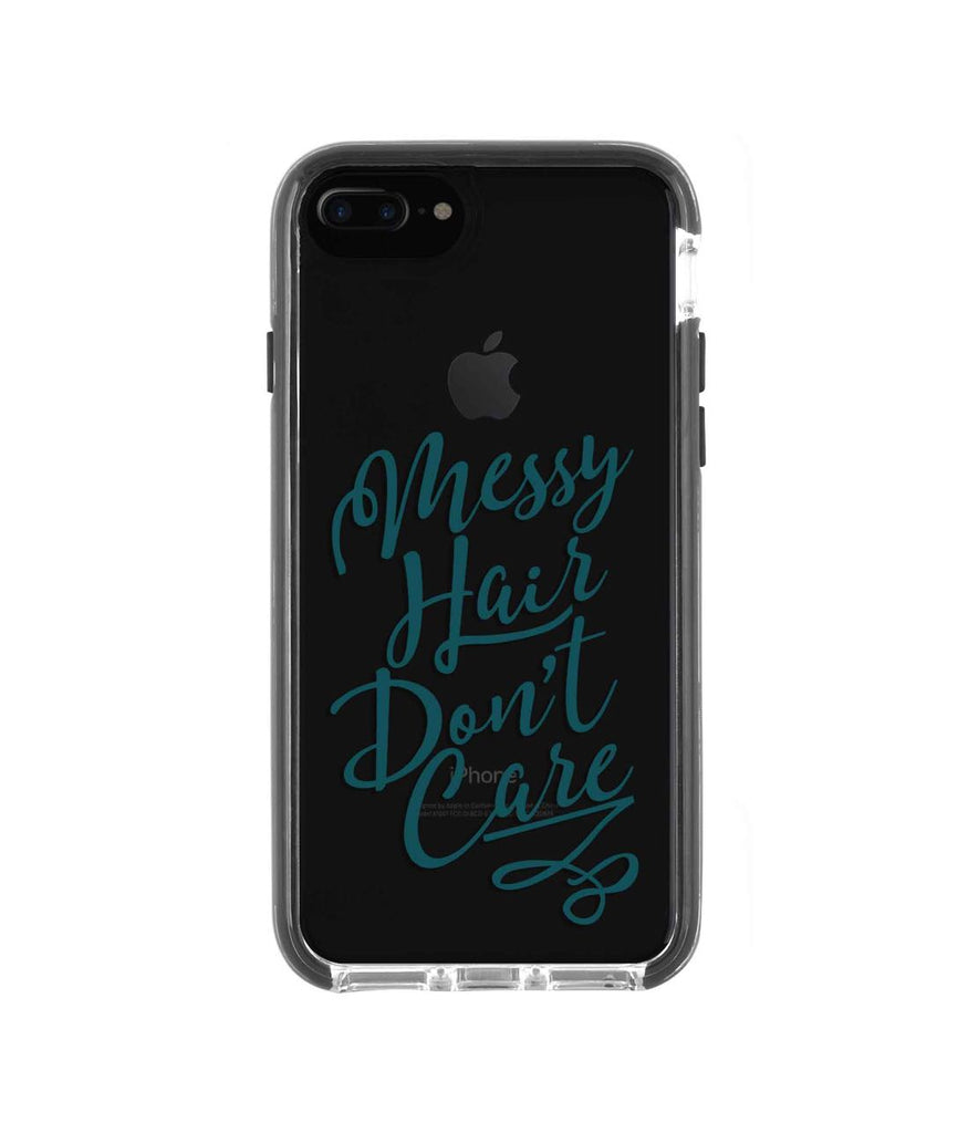 Messy Hair Dont Care - Extreme Phone Case for iPhone 8 Plus