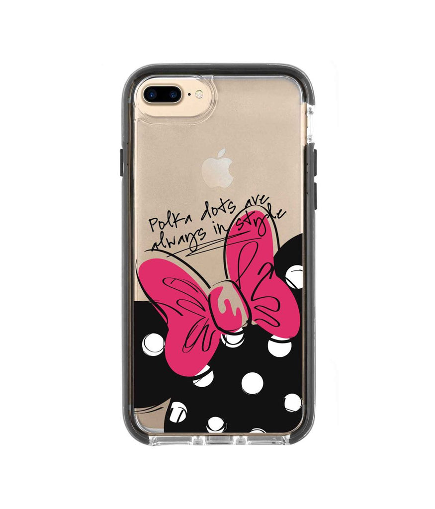 Polka Minnie - Extreme Phone Case for iPhone 8 Plus