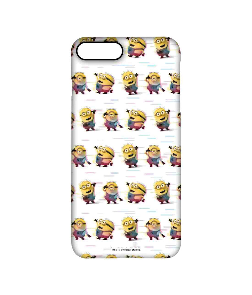 Groovy Minions White - Pro Phone Cases For Apple iPhone 8 Plus