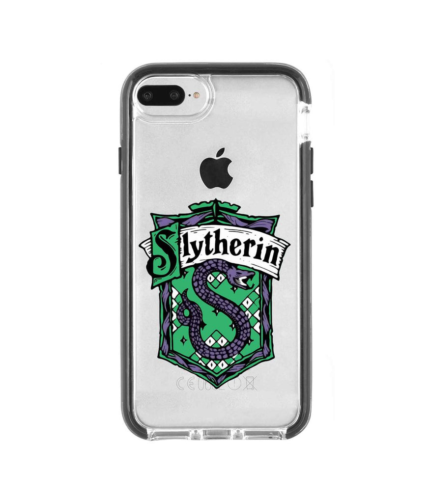 Crest Slytherin - Extreme Mobile Case for iPhone 8 Plus