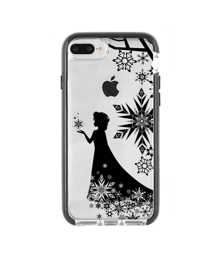 Elsa Silhouette - Extreme Mobile Case for iPhone 8 Plus