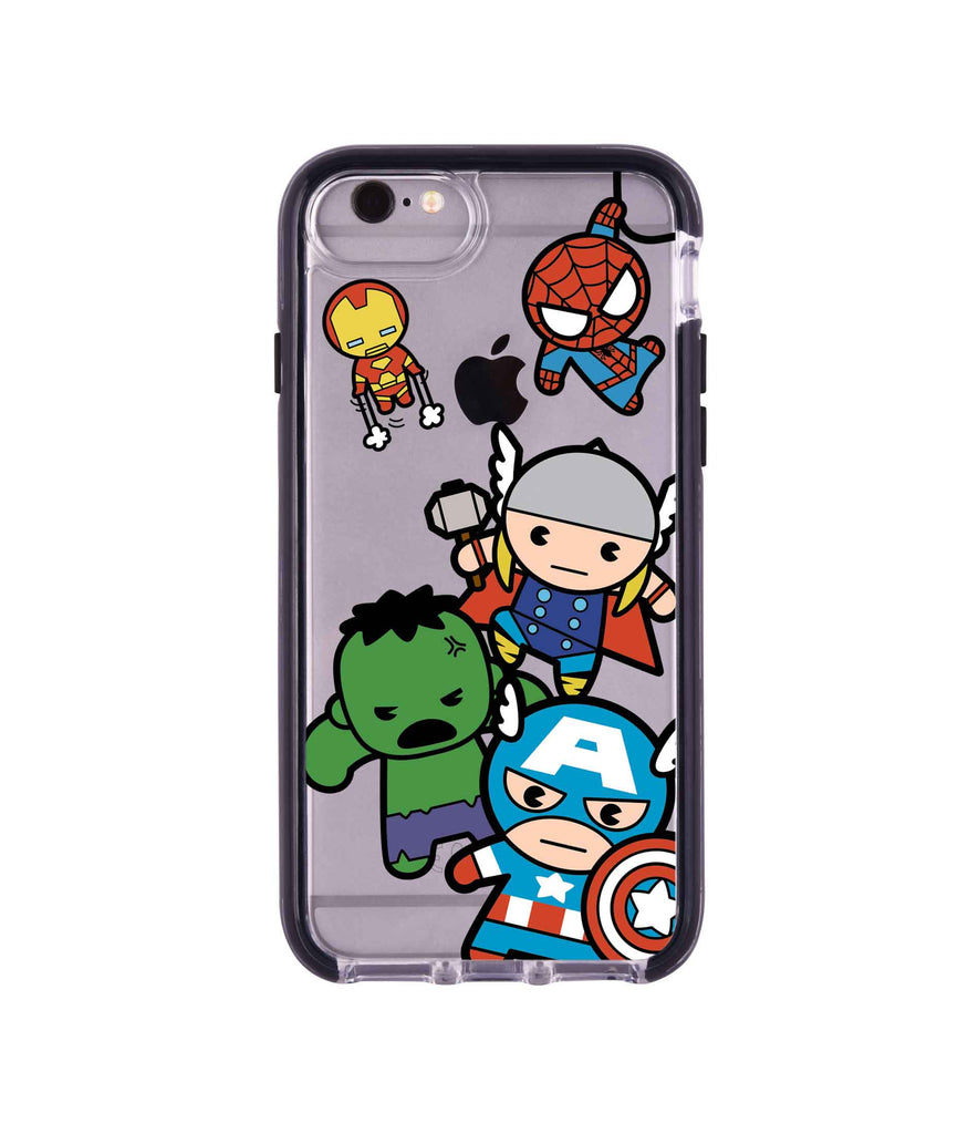 Kawaii Art Marvel Comics - Extreme Mobile Case for iPhone 6