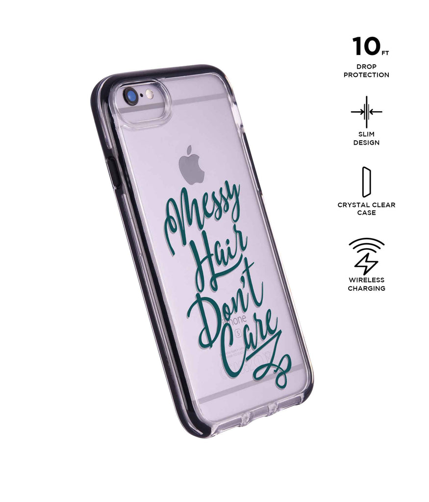 Messy Hair Dont Care - Extreme Phone Case for iPhone 6 Plus