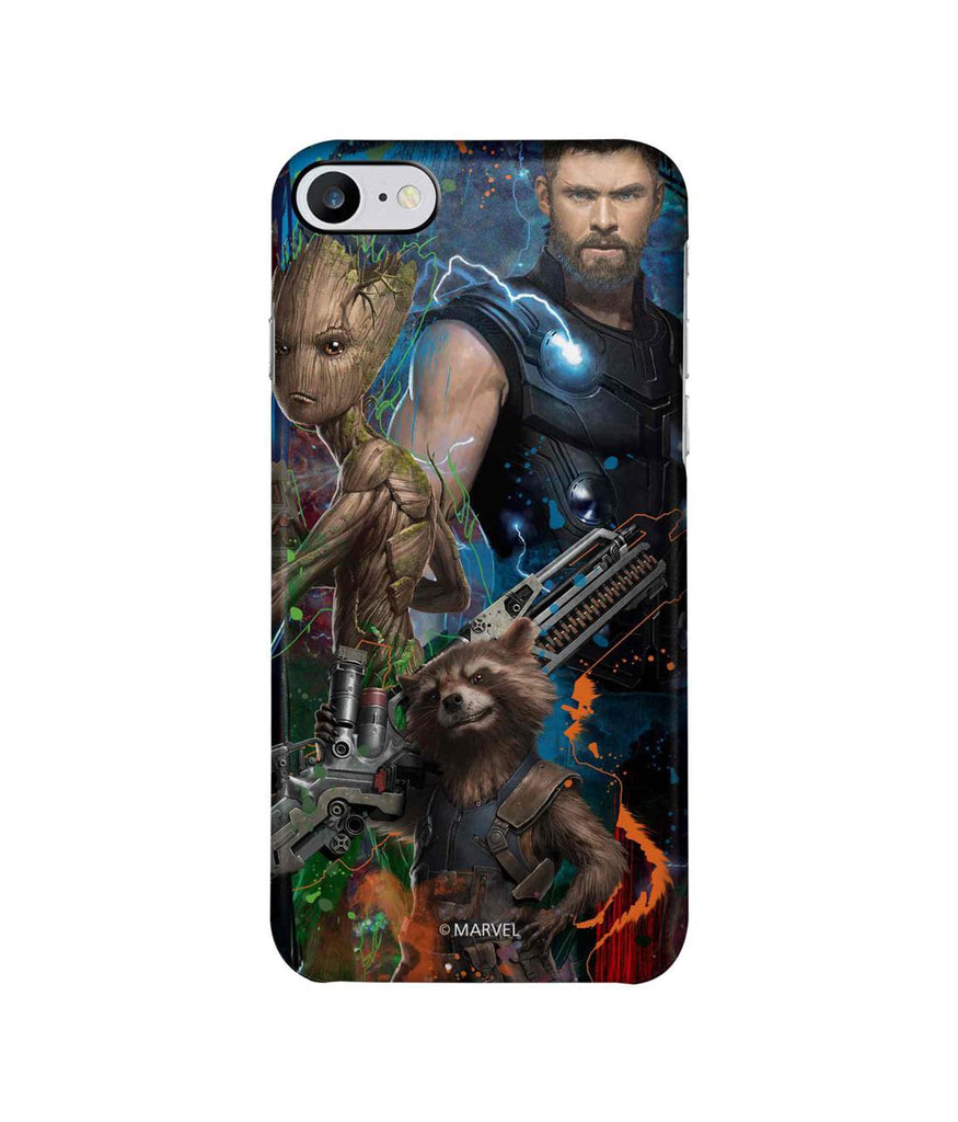 Guardians and Thor - Pro Phone Cases For Apple iPhone 7
