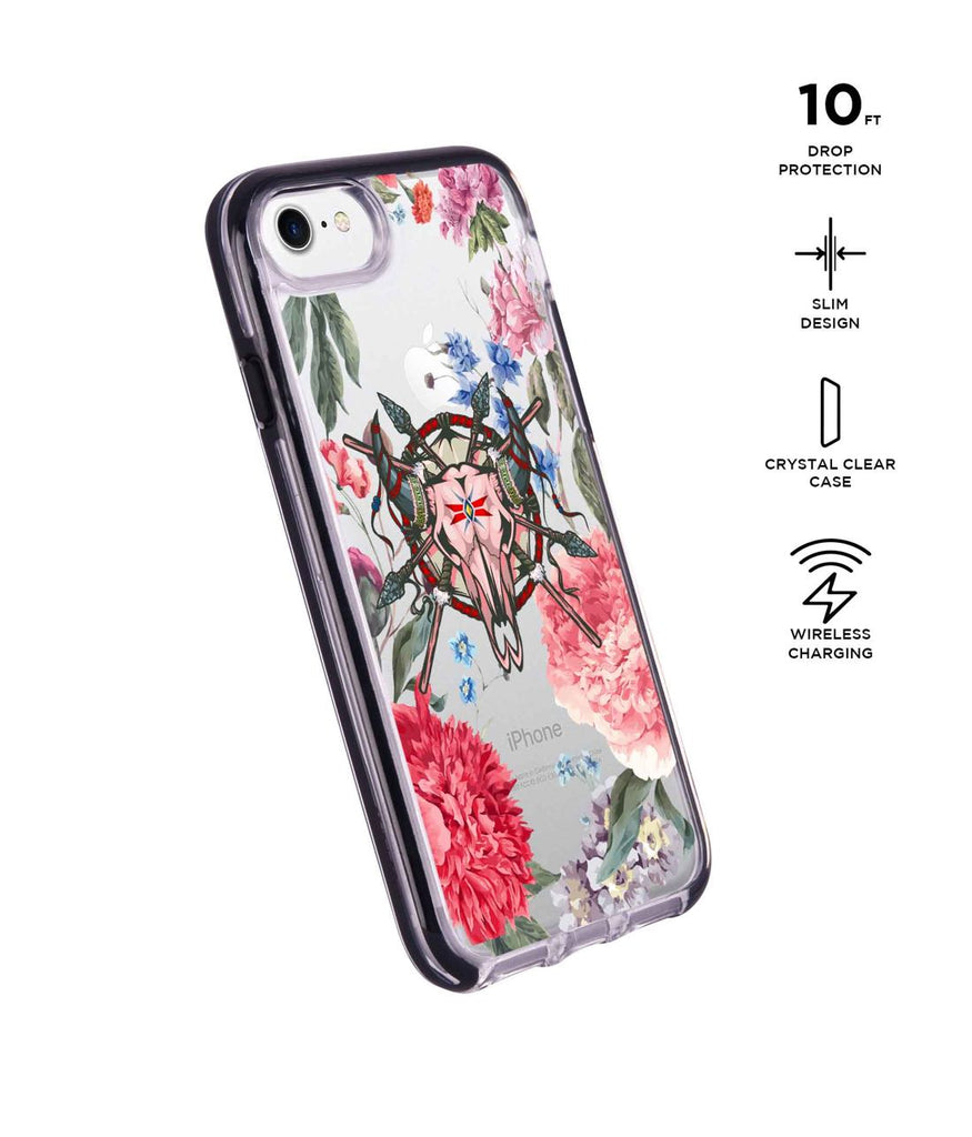 Floral Symmetry - Extreme Phone Case for iPhone 8