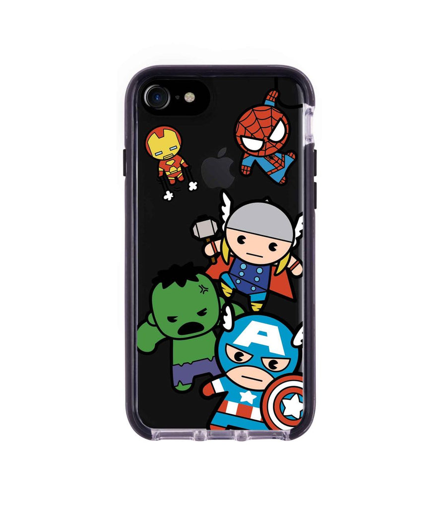 Kawaii Art Marvel Comics - Extreme Phone Case for iPhone 8