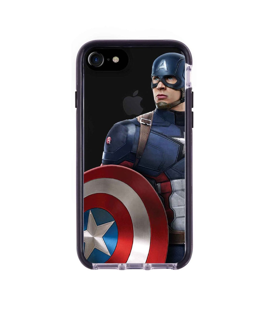 Team Blue Captain - Extreme Phone Case for iPhone 8