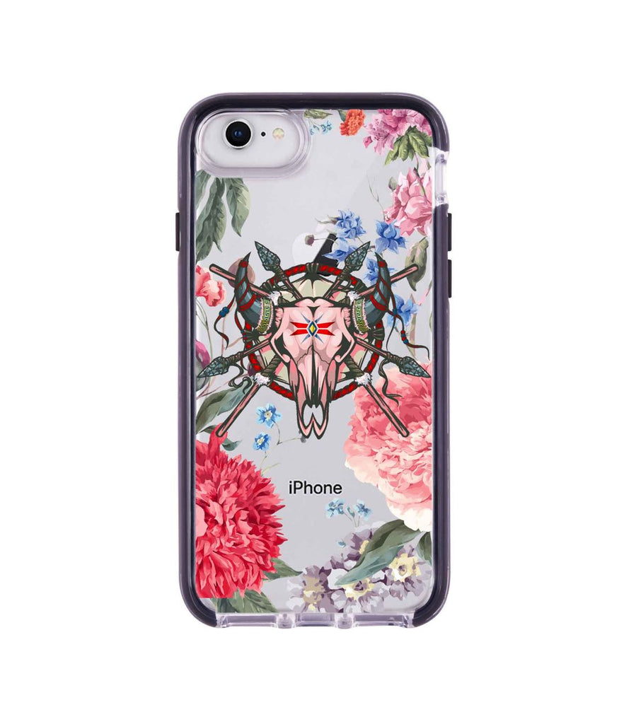 Floral Symmetry - Extreme Mobile Case for iPhone 8