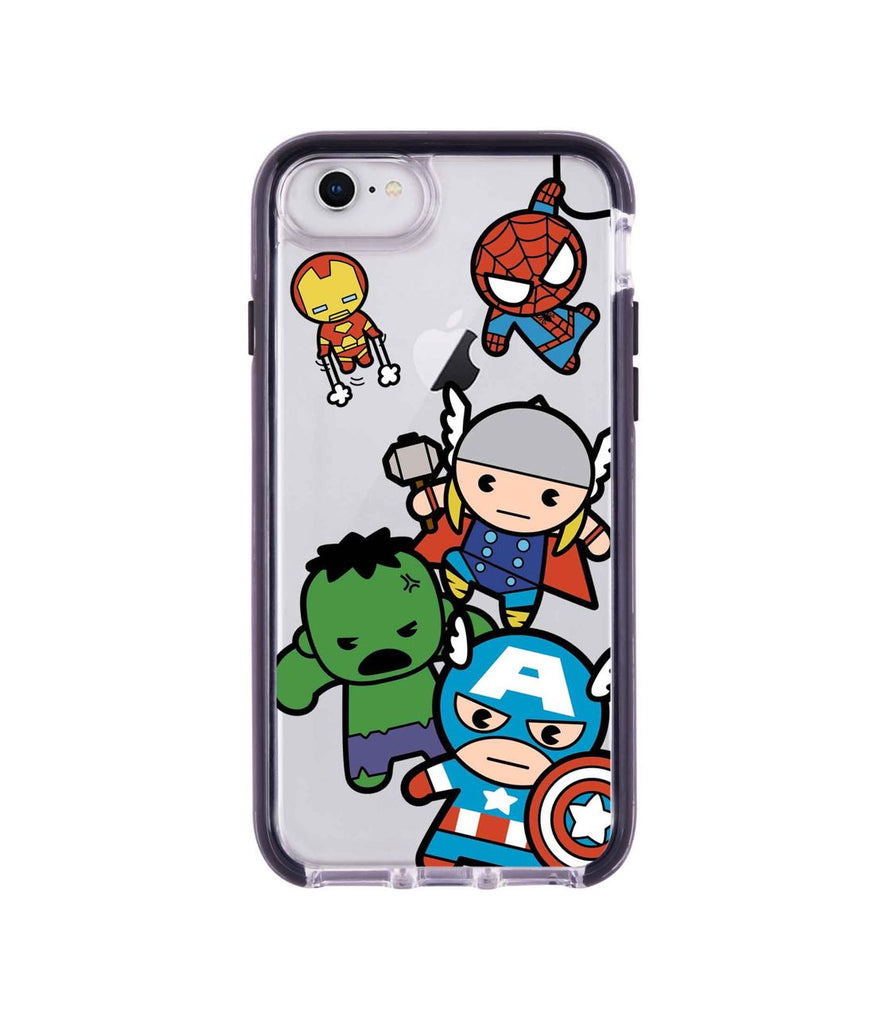 Kawaii Art Marvel Comics - Extreme Mobile Case for iPhone 8