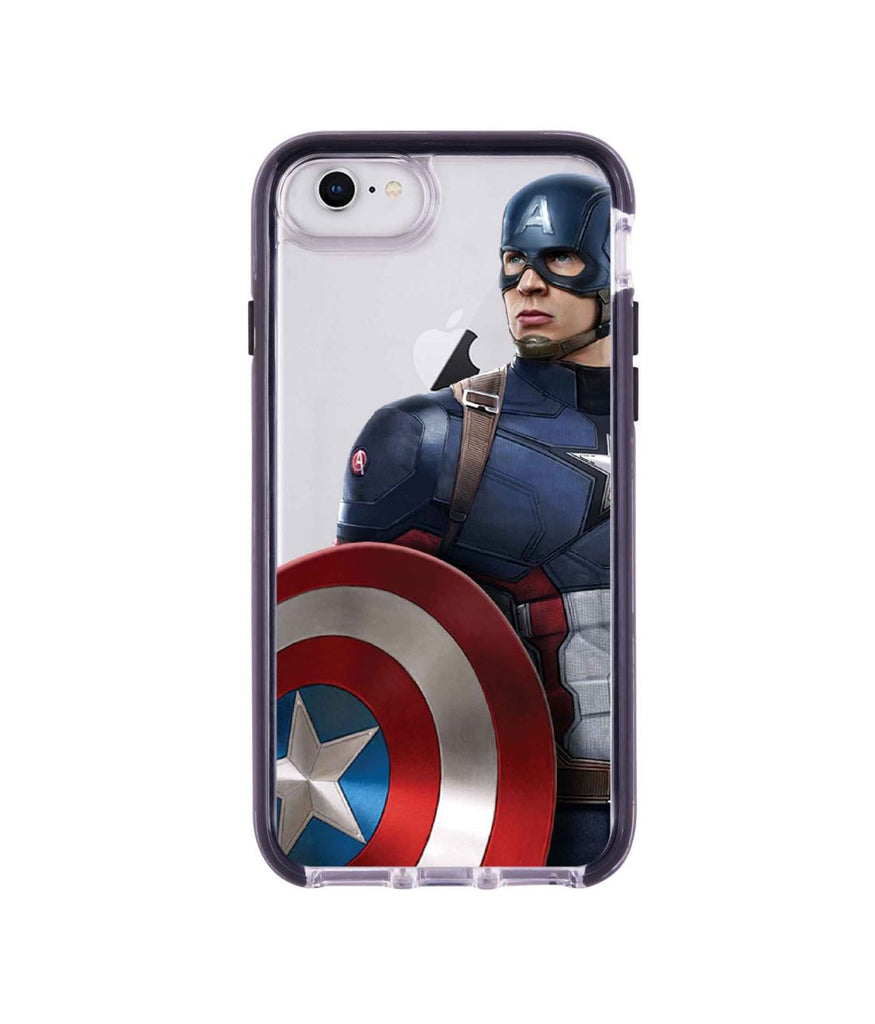 Team Blue Captain - Extreme Mobile Case for iPhone 8