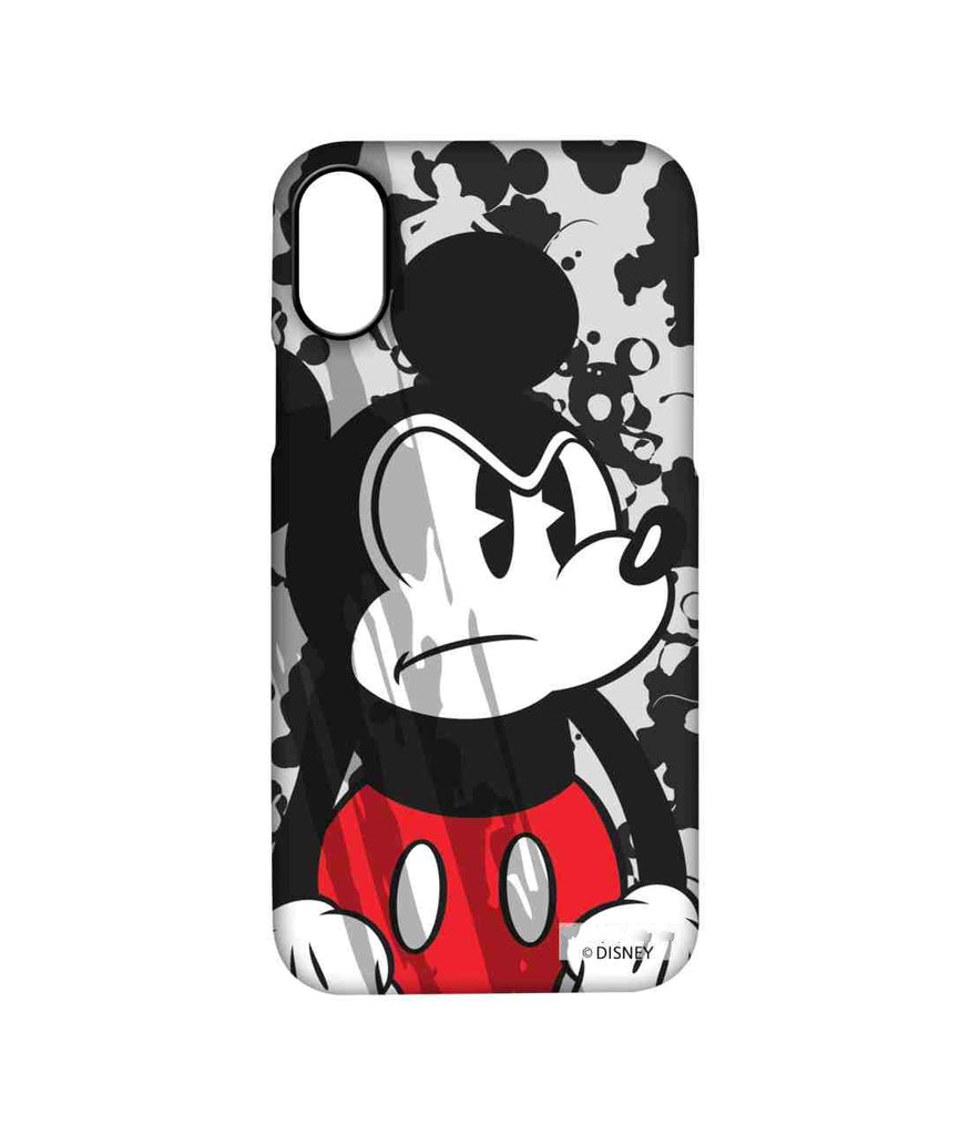 Grumpy Mickey - Pro Phone Cases For Apple iPhone X