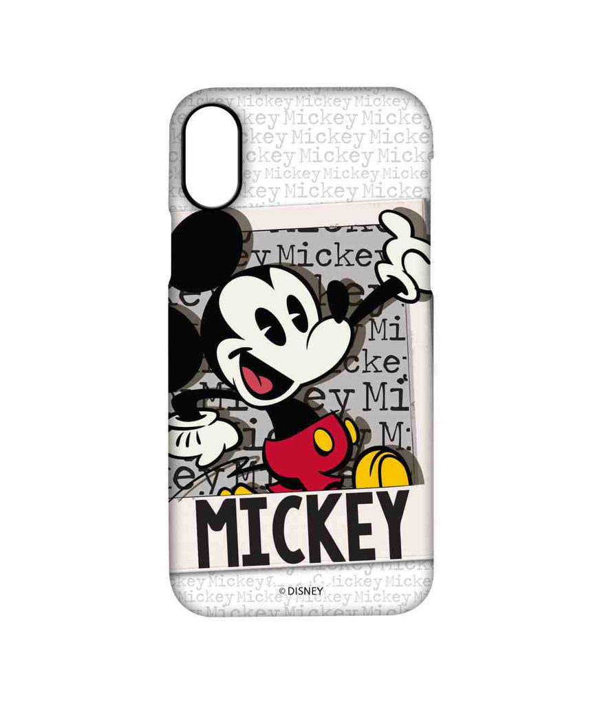 Hello Mr Mickey - Pro Phone Cases For Apple iPhone X