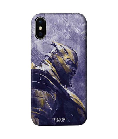 Thanos suited up - Pro Phone Case For iPhone X