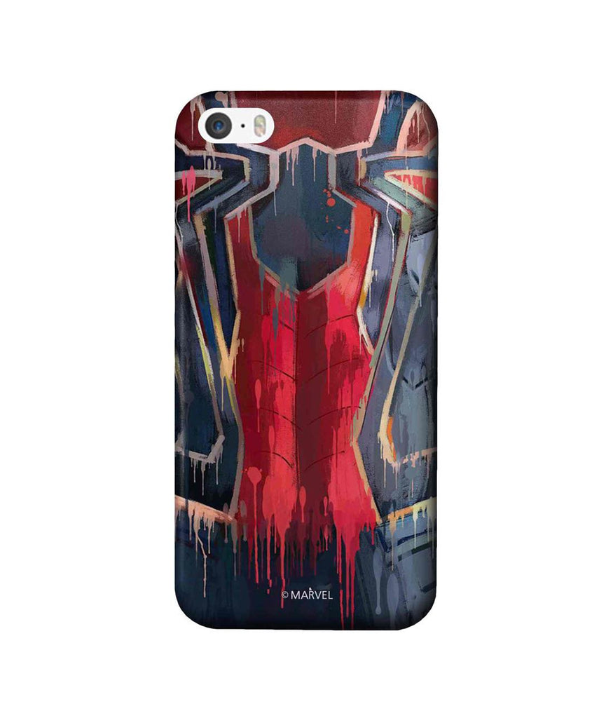 Grunge Suit Spidey - Pro Phone Cases For Apple iPhone SE