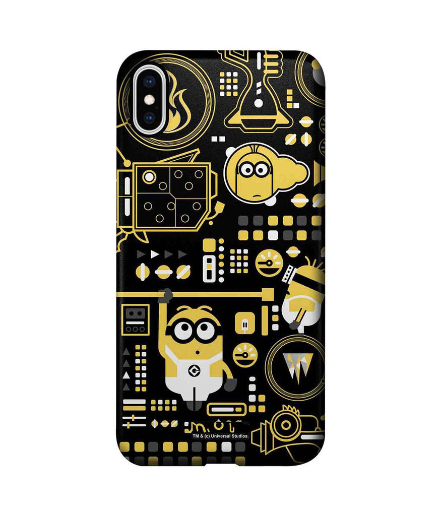 Grus Work Mess - Pro Phone Cases For Apple iPhone XS Max