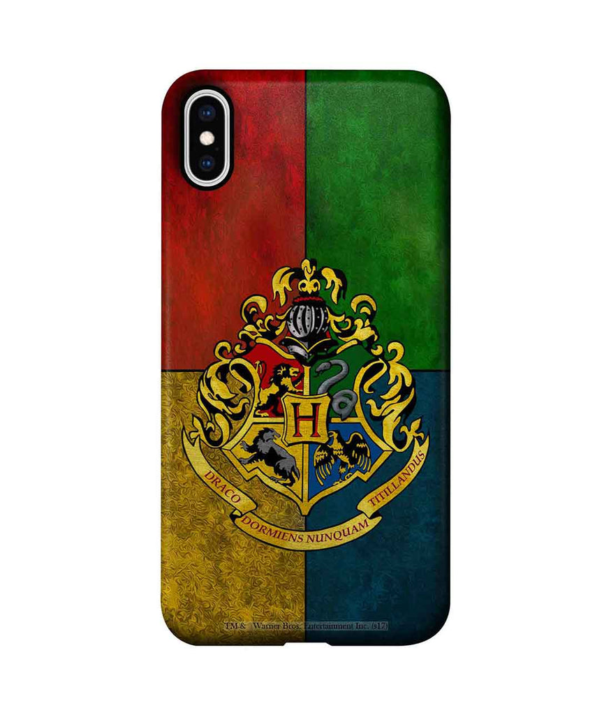 Hogwarts Sigil - Pro Phone Cases For Apple iPhone XS Max