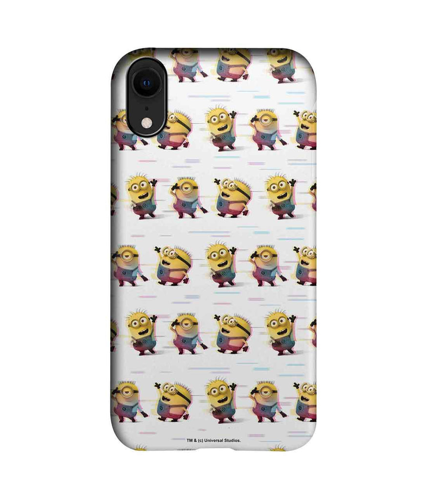 Groovy Minions White - Pro Phone Cases For Apple iPhone XR