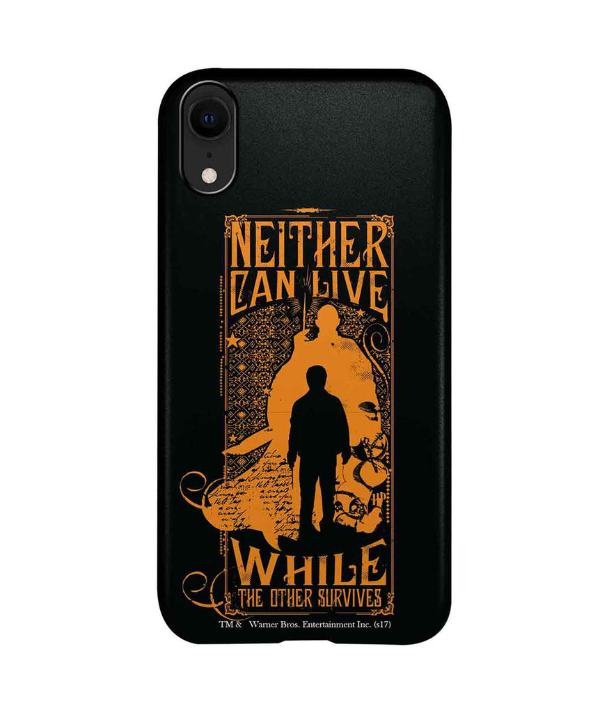 Harry vs Voldemort - Pro Phone Cases For Apple iPhone XR