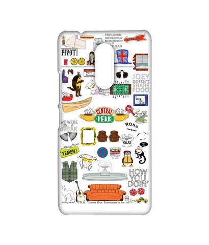 Friends Doodle - Sublime phone cases For Lenovo K6 Note